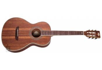 Washburn WP55NS Parlor Koa Natural Satin - Akustik Gitar