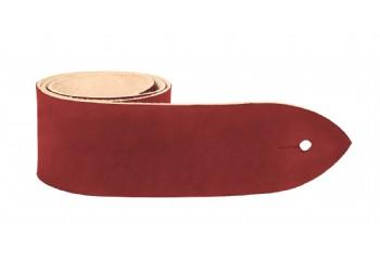 Tabaq DMDZ01 Bordo - Deri Gitar Askısı