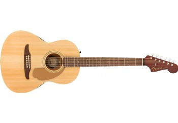 Fender Sonoran Mini With Bag Natural - Walnut - 3/4 Akustik Gitar