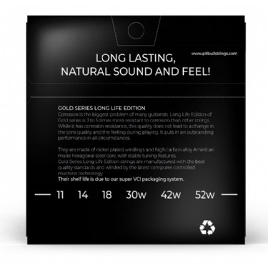 Pitbull Strings Gold Series LEG 11-52 LONG LIFE EDITION