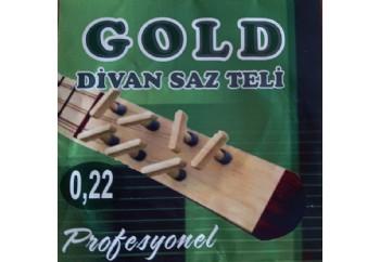 Gold GD22C Takım Tel - Divan Saz Teli 022