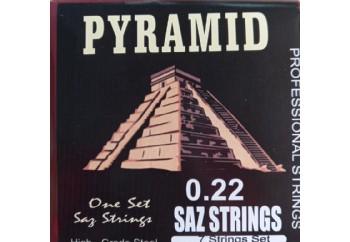 Gold GD25P Takım Tel - Divan Saz Teli Pyramid 025