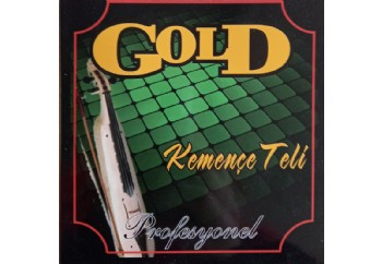 Gold GK25T Takım Tel - Kemençe Teli Topuzlu
