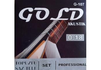 Gold GS18T - Saz Teli Topuzlu 018