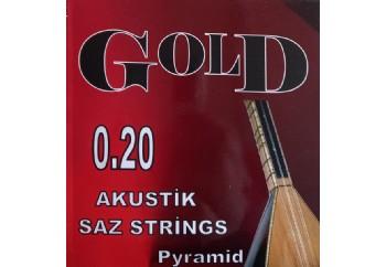Gold GS20T Takım Tel - Saz Teli Topuzlu 020