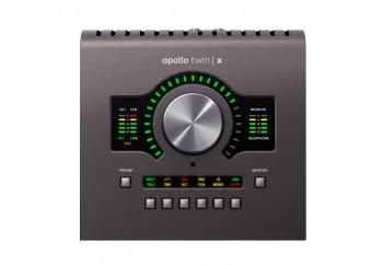 Universal Audio Apollo Twin X Quad - Heritage Edition - Quad Core DSP işlemcili, 2 x 6, 2 mikrofon preamp Thunderbolt 3 ses kartı - Zengin Plug-IN paketi ile birlikte (4 DSP) (Mac/PC)