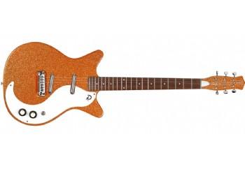 Danelectro 59M NOS Orange Metalflake - Elektro Gitar