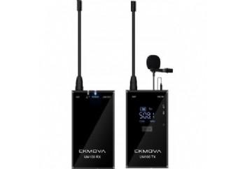 CKMOVA UM100 Kit1 Dual-Channel Wireless Microphone - Telsiz Mikrofon Sistemi (Wireless-Kablosuz)