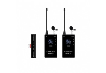 CKMOVA UM100 Kit4 Dual-Channel Wireless Microphone - Telsiz Mikrofon Sistemi (Wireless-Kablosuz)