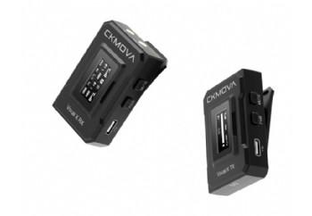 CKMOVA VOCAL X V1 Ultra Compact Dual Channel Wireless Mic - Telsiz Mikrofon Sistemi (Wireless-Kablosuz)