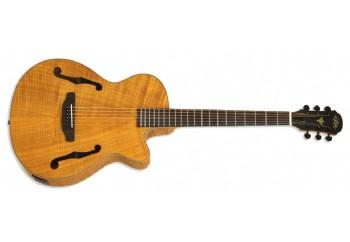 Aria FET-F2 STBR (Stained Brown) - Elektro Akustik Gitar