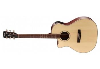 Cort GA-MEDX LH Open Pore - Solak Elektro Akustik Gitar