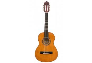 Valencia VC101T (5-7 yaş grubu)  Naturel - 1/4 Klasik Gitar Sap Çelikli