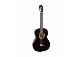 Valencia VC102T (8-10 yaş grubu) BK - 1/2 Klasik Gitar Sap Çelikli