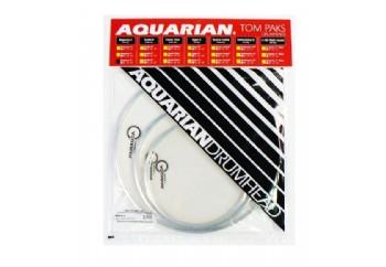 Aquarian Response 2 Clear RSP2CAQ - Davul Deri Seti (10+12+16)