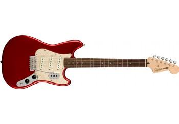Squier Paranormal Cyclone Candy Apple Red - Indian Laurel - Elektro Gitar