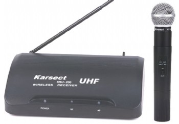 Karsect Kru 200/3 - Telsiz Mikrofon Sistemi (Wireless-Kablosuz)