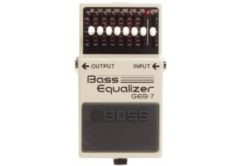 Boss GEB-7 - Bass Ekolayzer Pedalı
