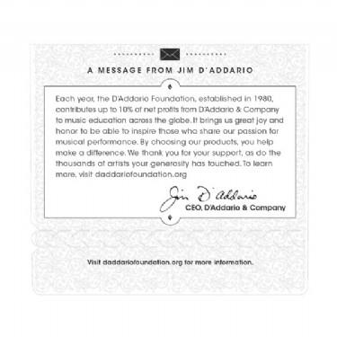 D'Addario EJ45 Pro-Arté Nylon, Normal Tension