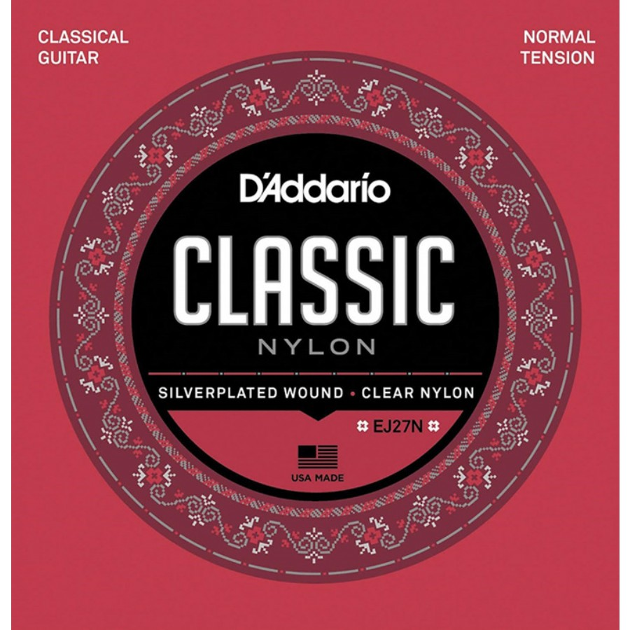 D'Addario EJ27N Student Nylon, Normal Tension