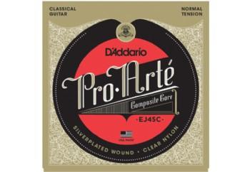 D'Addario EJ45C Pro-Arté Composite, Normal Tension Takım Tel - Klasik gitar teli