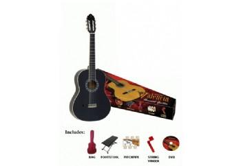 Valencia CG1K BK 4/4 (Yetişkinler İçin) - Klasik Gitar Seti
