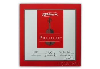 D'Addario J810 Prelude J81034 - 3/4 Takım Tel