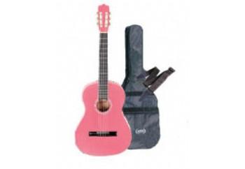 Ashton CG44 Starter Pack PK-Pembe - Klasik Gitar Seti