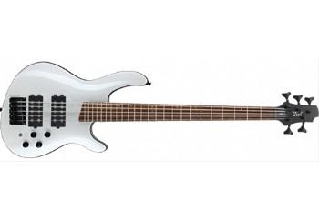 Cort C5H WP - Beyaz - 5 Telli Bas Gitar