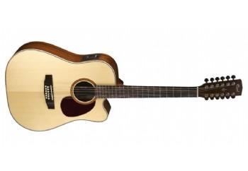Cort MR710F-12 NS - Naturel - 12 Telli Elektro Akustik Gitar