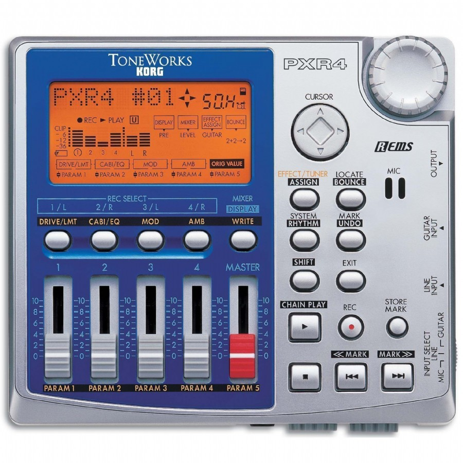 Korg ToneWorks PXR4 4-Track Digital Recorder
