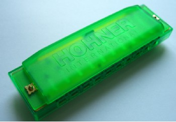 Hohner Happy Color C Harmonica Green (Yeşil) - M5153 - Mızıka