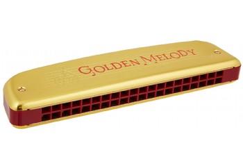 Hohner 2416 Golden Melody Tremolo Harmonica C (Do Majör) - M2416017 - Mızıka