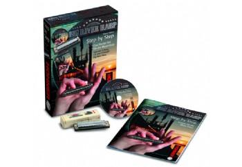 Hohner Step by Step - Starter Set for Blues C (Do Majör) - M91401 - Mızıka Blues Öğrenim Paketi