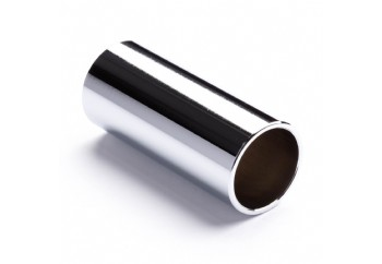 Jim Dunlop Chromed Steel Slide 220 Medium Wall Thickness - Medium Diameter (19 x 22 x 60mm)