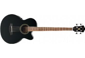 Ibanez AEB8E BK - Elektro Akustik Bas Gitar