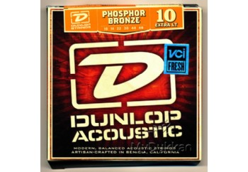 Jim Dunlop DAP1048 Phosphore Bronze Extra Light Takım Tel - Akustik Gitar Teli 010-048