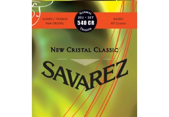 Savarez New Cristal Classic Normal Tension 540CR Takım Tel - Klasik Gitar Teli (Normal Tension)