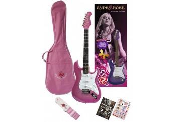 Valencia Gypsy Rose GRE1KC PK - Pembe - Elektro Gitar Seti