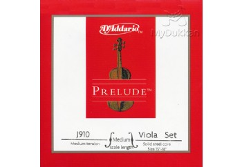D'Addario J910 MM Prelude Medium Tension Takım Tel - Viyola Teli