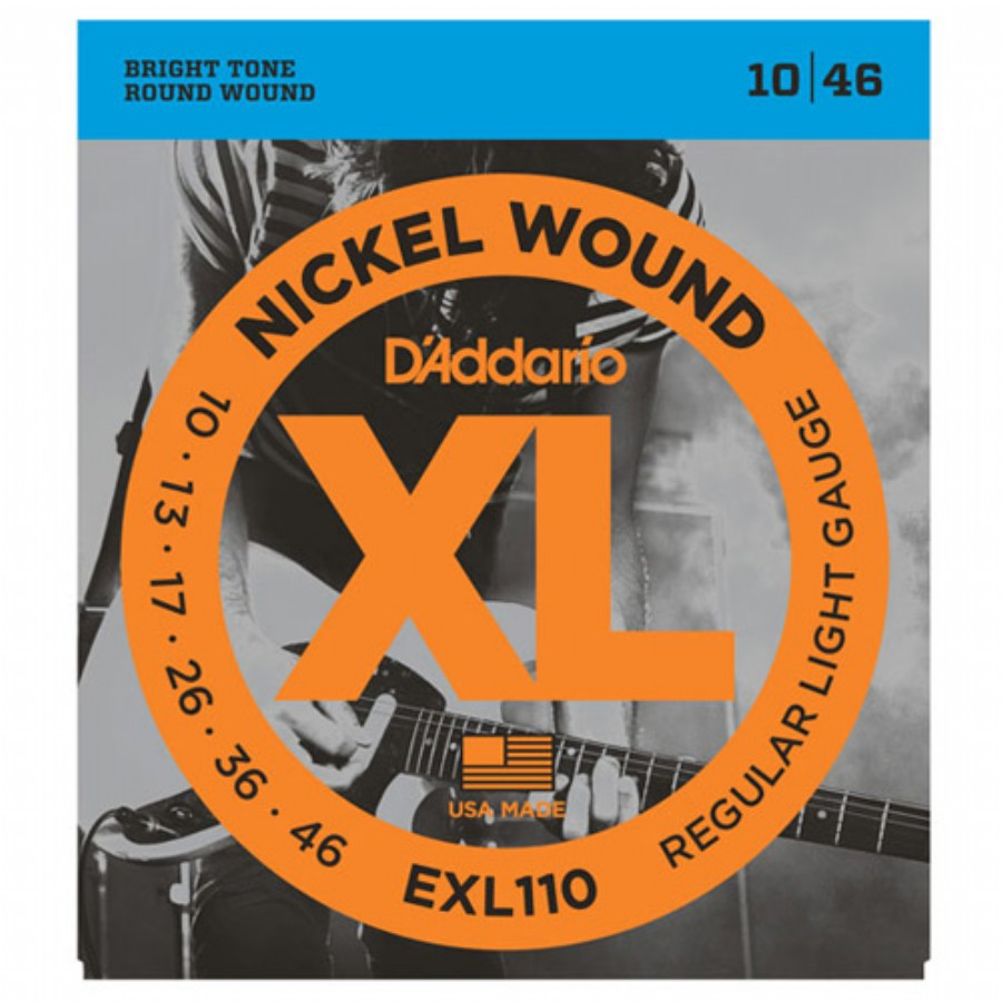 D'Addario EXL110 Nickel Wound, Regular Light