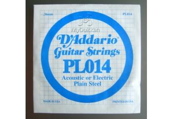 D'Addario EXL115 Nickel Wound, Medium/Blues-Jazz Rock, 11-49 PL014 Si Tek Tel