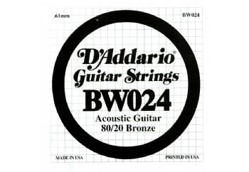 D'Addario EJ11 80/20 Bronze Acoustic Guitar Strings, Light, 12-53 BW024 Sol-Tek Tel - Akustik Gitar Teli