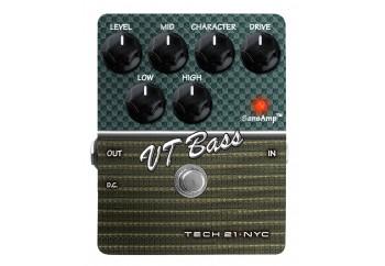 Tech 21 SansAmp Character Series VT Bass Amp (2. Versiyon) - Bass Preamp/Overdrive Pedalı