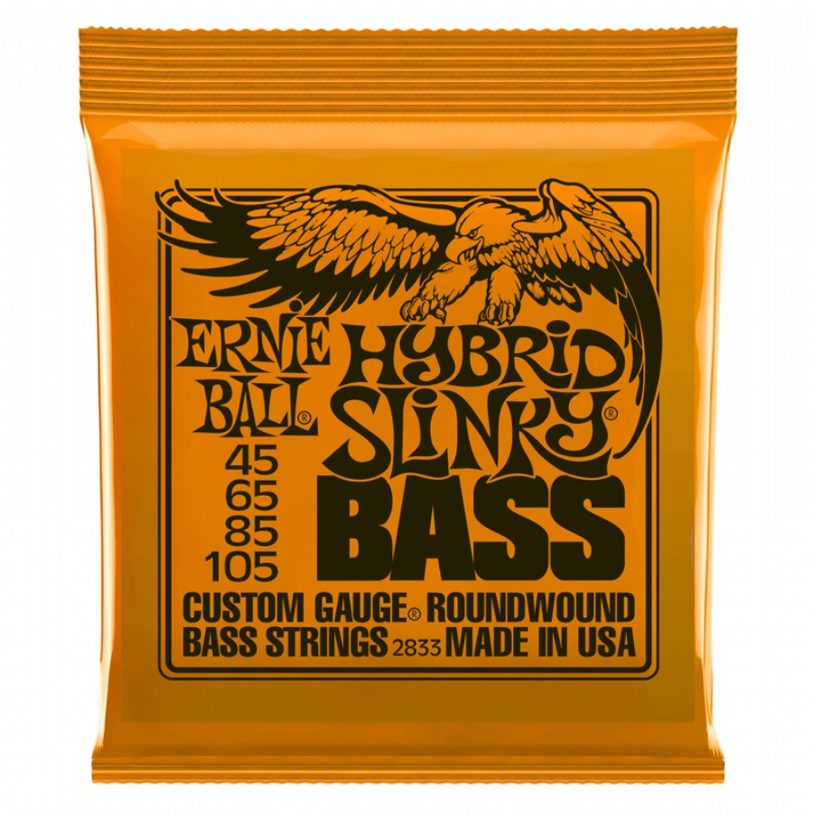 Ernie Ball Hybrid Slinky Bass Nickel Wound 2833
