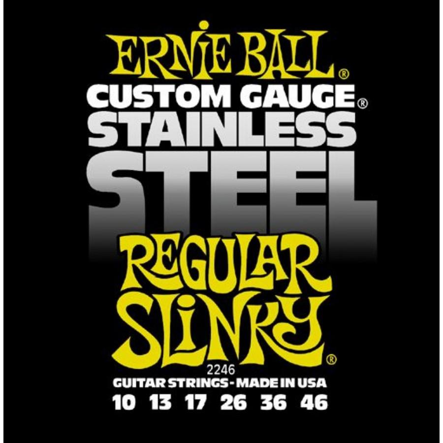 Ernie Ball 2246 Stainless Steel Regular Slinky