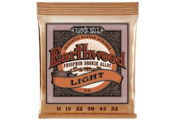 Ernie Ball Earthwood Extra Light Phosphor Bronze Takım Tel - Akustik Gitar Teli 011