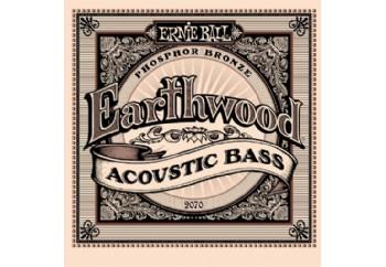 Ernie Ball Earthwood 2070 Phosphor Bronze Acoustic Bass Takım Tel - Akustik Bas Gitar Teli 045