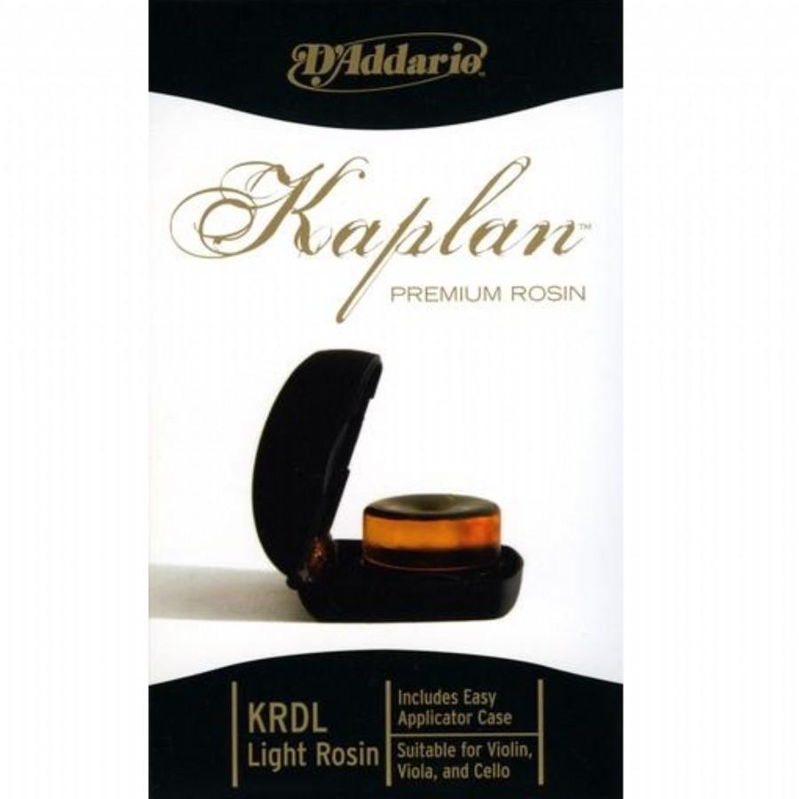 D'addario Kaplan Premium Rosin KRDL Light Rosin