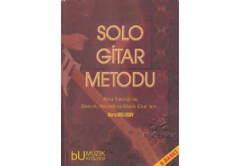 Solo Gitar Metodu Kitap - Bora Uslusoy